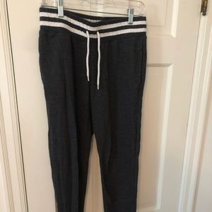 mossimo heathered gray sweats size S